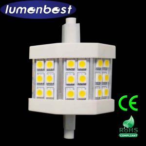 Cheap R7S LED R7S BULB 18SMD(5050)Aluminum+Plastic 4.5W 78mm(78mm*54mm) for sale