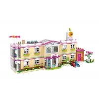 Cheap DIY School Villa Hospital Plastic Building Blocks For Kids Toys 100% Non - Toxic for sale