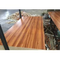 Cheap E1 Formaldehyde Emission Melamine faced Commercial Plywood For furniture Decoration for sale