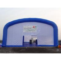 Cheap Trade Show Inflatable Event Tent , White Huge Inflatable Camping Tent for sale