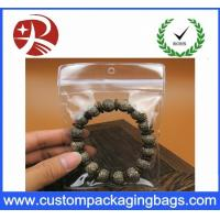Buy cheap Customized Plastic Transparent Pvc Bag For Small Jewelry , 5*7cm from wholesalers