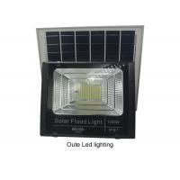 Cheap High Efficiency Solar LED Flood Lights Bulb For Outside Excellent Heat Sink for sale