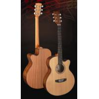 Cheap Superior Full Size Cedar Solidwood Western Guitar / Wood Acoustic Guitar TP-AG28C for sale