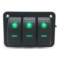 Buy cheap Car-styling 5 Pin on-off 3 Gang Waterproof Car Auto Boat Marine LED Rocker from wholesalers