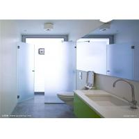 Cheap Safety Tempered Frosted Glass Sheets / Custom Frosted Glass For Bathroom Door for sale