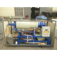 HL-280-2 Solid liquid Separator Milking Machine Spares for Cow Pig Chicken Slaughterhous waste Manufactures