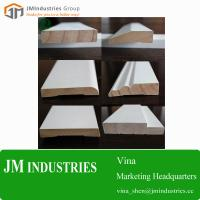 Cheap Wood Home Building Material-wooden moulding profile white primed moulding Manufacturer for sale