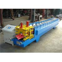 Cheap Customized Roofing Ridge Cap Roll Forming Machine GI / PPGI Raw Material for sale