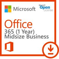 Cheap Volume Office 365 Key Code Midsize Business One Seat Open License For PC for sale