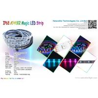 Cheap Addressable IP68 APA102 Magic Color LED Pixel Strip Light for Buildings, Bridge or Underwater for sale