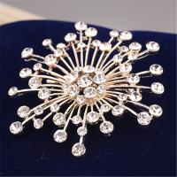 Cheap 2015 Fashion Accessories 18K Gold Plated Brooches for Women Girls Wedding Style Party Use Cerlebrity Brooches 1pc Only for sale