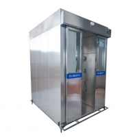 Cheap SS201 200kg 1.6Kw Infrared Induction Air Shower Room for sale