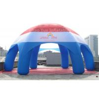 Cheap Big Customized Inflatable Spider Dome Tent with CE blower for sale