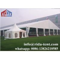 Buy cheap Long Using Life Portable Party Tent / Small White Wedding Marquee Tent from wholesalers