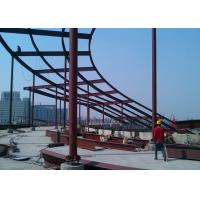 Quality High Rise Building Top Decoration Steel  Structure Construction wholesale