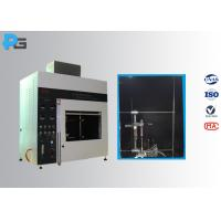 Cheap Vertical / Horizontal Flame Apparatus Lab Testing Equipment 5V / HB/ V-0/1/2 UL94 for sale