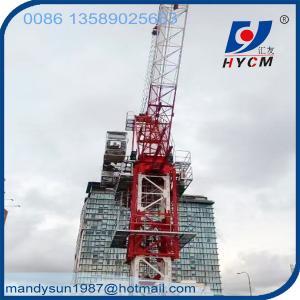 China QTD160(4043) Luffing Jib Internal Climbing Tower Crane for High Rising Buliding on sale