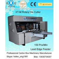Cheap Double Roller Carton Making Machine With High Precision Of Die Cutting And Molding for sale