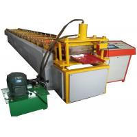Cheap 380v Ghana Selflock  Roll Forming Machine For 0.3-0.7 Coil With 3 Ton Manual Decoiler for sale