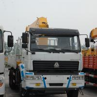 Cheap HOWOA7 Truck mounted Crane 10T for sale