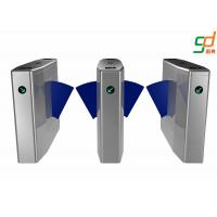 Buy cheap Customized Flap Barrier Gate / Full Automatic Subway Turnstile Access from wholesalers