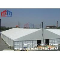 Buy cheap Wooden Flooring Marquee Party Tent For Luxury Party Decorate White Color from wholesalers