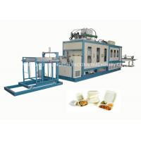 Quality EPS Foam Food Container Forming and Cutting Machine 750 / 1000mm wholesale