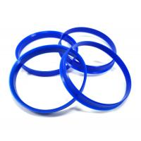 Cheap Light Weight Hub Centric Spacer Rings Blue Color For Eliminating Wheel Vibrations for sale