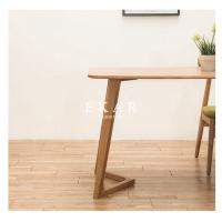 Cheap Latest Designs Solid Wood Furniture White Oak Dining Table for sale