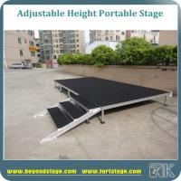 High quality Carpet surface portable stage event stage platform for indoor or outdoor activity stage platform Manufactures