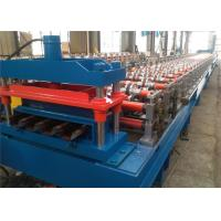 Cheap Metal Tile Floor Deck Roll Forming Machine , Steel Roll Forming Machine Easy Operation for sale