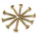 Cheap Metal Chipboard Flooring Screws , Flat  Csk Self Tapping Screw ST2.5 - ST6.0 Thread for sale