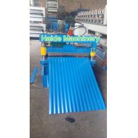 Cheap Metal Color Steel Roll Forming Machine , Corrugated Tile Roll Forming Machine 4KW for sale