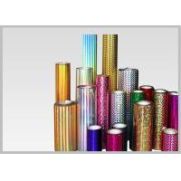 Cheap Transparent Holographic Lamination Film Multiple Extrusion , Width 300-1300mm for sale