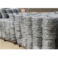 Cheap Security 25kgs Per Roll Fence Circular Barbed Wire for sale