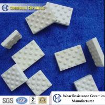Raised Ceramic Mosaic Tile Vulcanized in Pulley Lagging