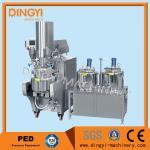 Cheap 316L 380V Vacuum Emulsifying Mixer , Cosmetic Cream Making Machine220V/380V for sale
