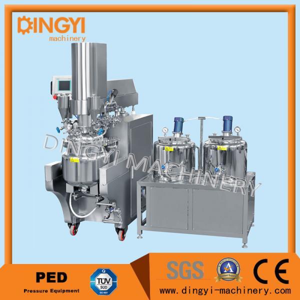 Quality 316L 380V Vacuum Emulsifying Mixer , Cosmetic Cream Making Machine220V/380V wholesale