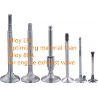 Cheap High Performance Internal Combustion Engine Exhaust Valve Alloys ISO9001 for sale