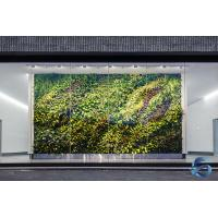 Buy cheap Ultra Simulation Artificial Plant Wall Square Shape OEM / ODM Service from wholesalers