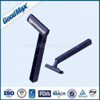 Quality Smooth Glide Twin Blade Disposable Razor With Comfortable Plastic Handle wholesale