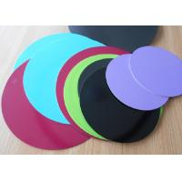 Buy cheap 1.8mm Thick 3003 Aluminum Circle Sheet Red Teflone Coating 250mm Corrosion from wholesalers