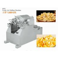 Cheap ISO9001 Candy Packaging Machine / Large Air Puffing Machine For Cake , Bread And Rice Bar for sale