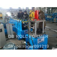 Flange Fire Damper Purlin Roll Forming Machine / floor deck roll forming machine