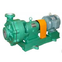 China Stainless Steel End Suction Chemical Process Pump For -50 - 300 ℃ Temp Fluid on sale