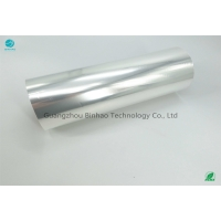 Cheap 99.98% 3 Inch Core 21 Micron Tobacco PVC Packaging Film Cold Resistant for sale
