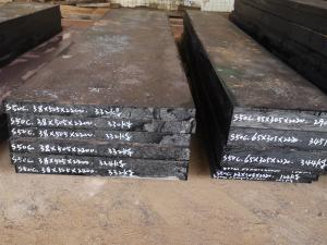 Cheap Carbon Steel S50C SAE1050 C50 Flat Bar For Plastic Mould for sale