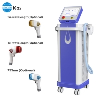 Cheap TUV CE 0.5hz Diode 808 Laser Hair Removal Machine for sale