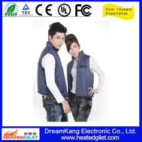Cheap 2014 hot selling winter electric heated vest for sale
