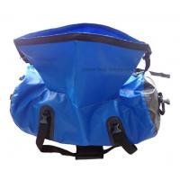 Cheap Silk Screen Printing Waterproof Gear Bag , 70L Duffel Bag For Travelling Rafting for sale